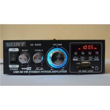 Стерео усилитель звука c USB, SD, FM