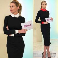 Офисное платье, женское платье в офис, классическое платье, офісне плаття