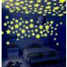 Настенные звезды светящиеся 100 шт