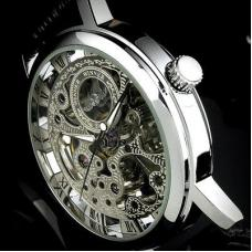 Мужские часы в стиле  Winner skeleton