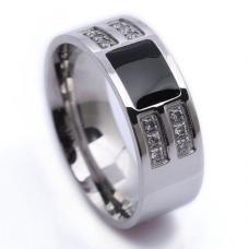 Мужское кольцо из нержавеющей стали