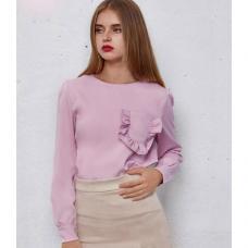 Женская блузка рюши