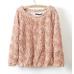 Женский свитер с розами