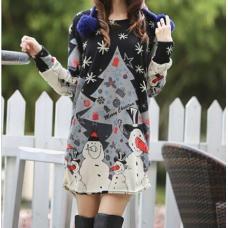 Платье как туника и пуловер