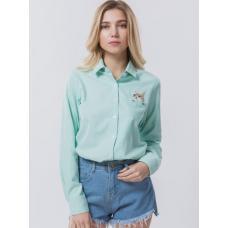 Женская рубашка Котик