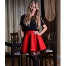 Кокетливая юбка 3 цвета