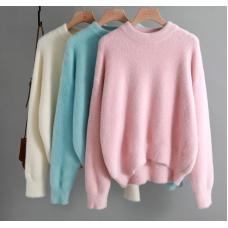 Женский свитер Кашемир  / теплый свитер оверсайз