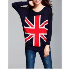 Пуловер флаг Великобритании (туника)