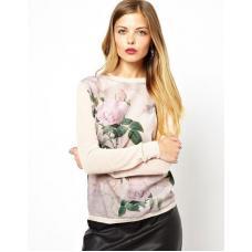 Женский свитер Роза