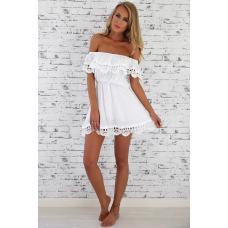 Летнее мини пляжное платье, женское платье