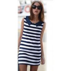 Платье морячка, летнее платье, платье море, плаття
