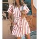 Женское пляжное мини платье