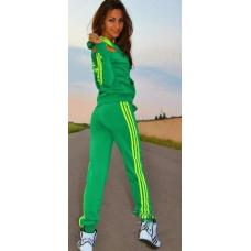 Спортивный женский костюм в стиле ADIDAS