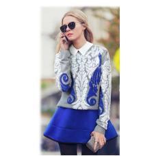 Женский свитер узор, свитер женский, жіноча кофта
