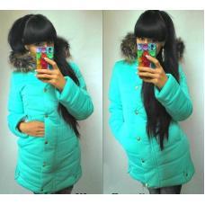 Женская зимняя куртка разные цвета