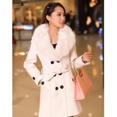 Женское пальто воротник мех