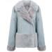 Женское замшевое пальто / женская куртка пальто