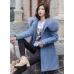 Женская куртка парка мех / много цветов