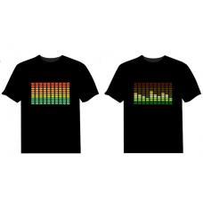 Мужская футболка Эквалайзер музыки