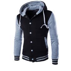 Спортивная теплая мужская куртка с капюшоном