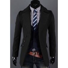 Стильный пальто- пиджак, мужское пальто, чоловіче пальто