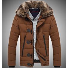 Мужская куртка с мехом зима