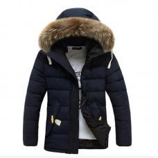 Мужская куртка с капюшоном осень - зима