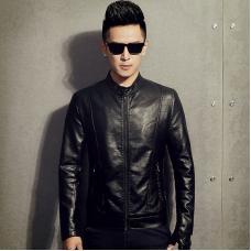 Куртка мужская искусственная кожа