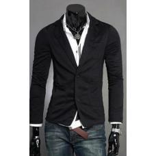 Мужской классический приталенный пиджак на все сезоны