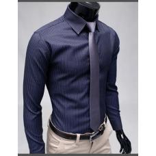 Классическая рубашка в полоску, мужская рубашка, чоловіча рубашка