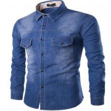 Мужская джинсовая рубашка Denim