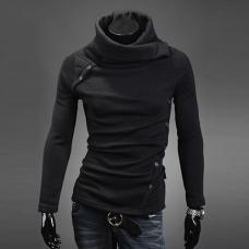 Мужская толстовка-свитер с длинным рукавом
