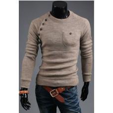 Мужской свитер длинный рукав