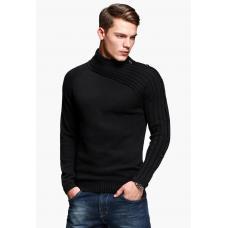 Пуловер с высоким воротом, мужской свитер, мужская кофта, чоловічий світер