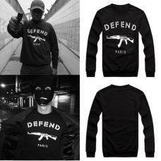 Мужской пуловер defend / мужская толстовка