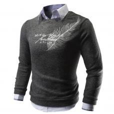 Свитер с надписью, мужской свитер, кофта мужская, чоловіча кофта