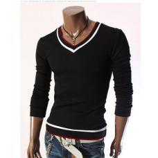 Мужской пуловер-свитер