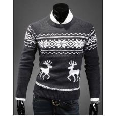 Рождественский мужской свитер