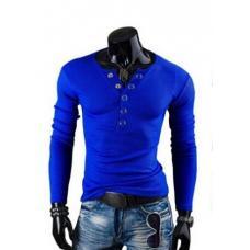 Мужской свитер-пуловер с v образным вырезом
