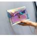 Женская прозрачная сумочка через плечо