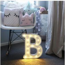 Светодиодная лампа Буквы
