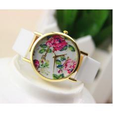 Женские часы цветок