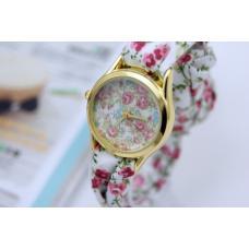 Женские часы цветочные
