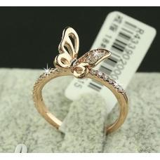 Кольцо бабочка