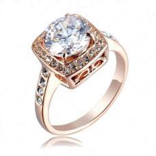 Женское кольцо Кристалл