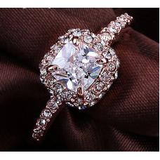 Женское кольцо Шампань