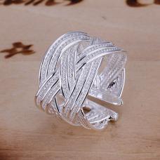 Серебряное кольцо Плетение