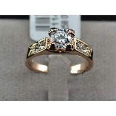 Женское кольцо Айрин позолота
