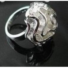 Кольцо Роза - серебро
