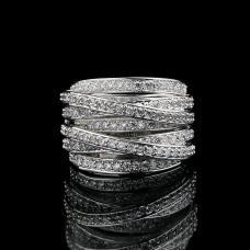 Женское кольцо Плетение